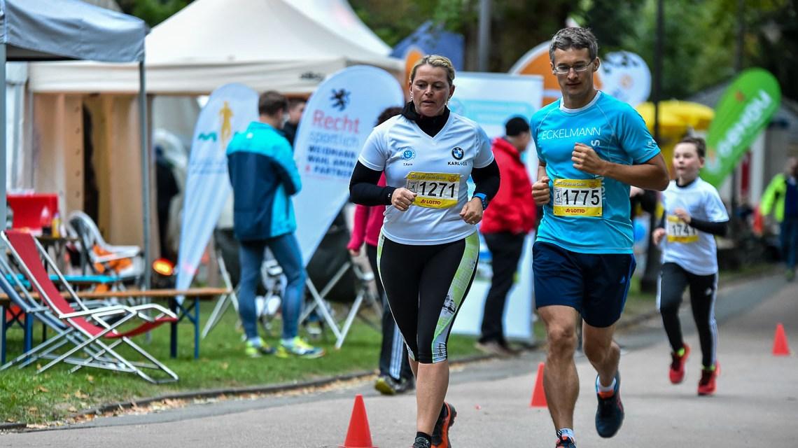Jubiläum zum 25 Stunden Lauf im Kurpark Wiesbaden