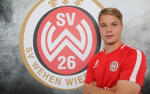 Für ein Jahr von Werder ausgeliehen: Niklas Schmidt ©2018 svww.de
