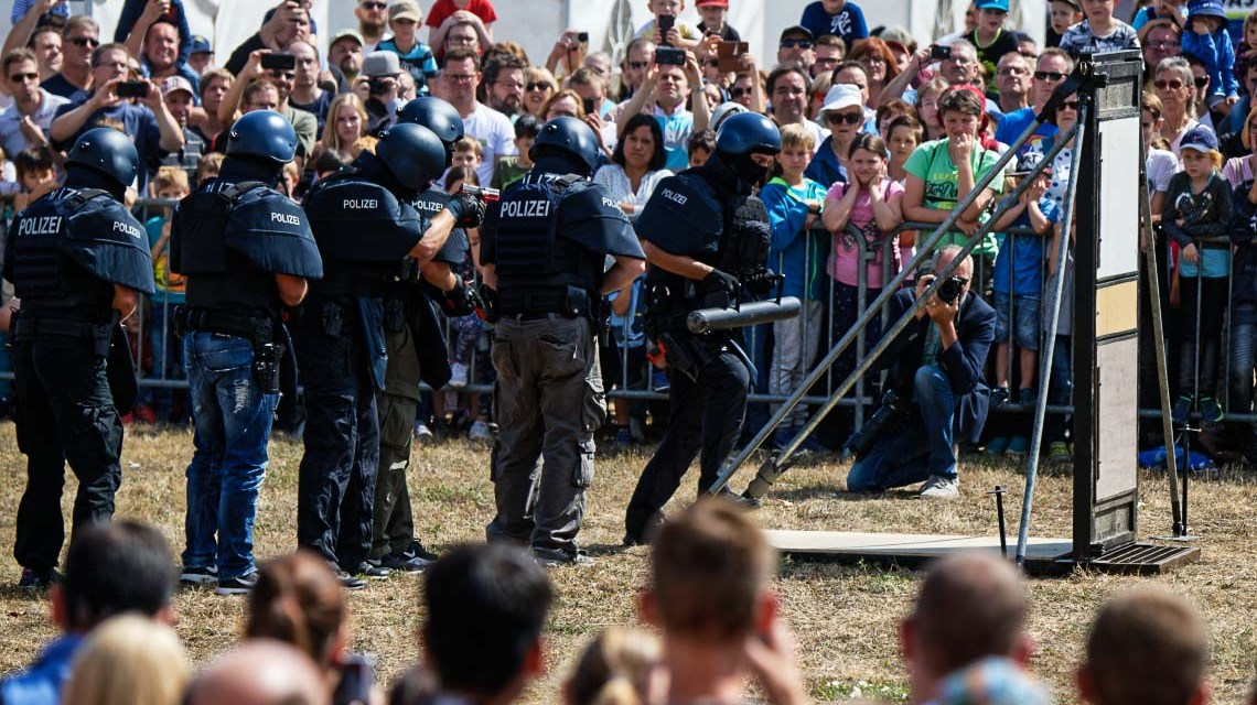 12.000 Besucher beim Tag der offenen Tür im Polizeipräsidium Westhessen
