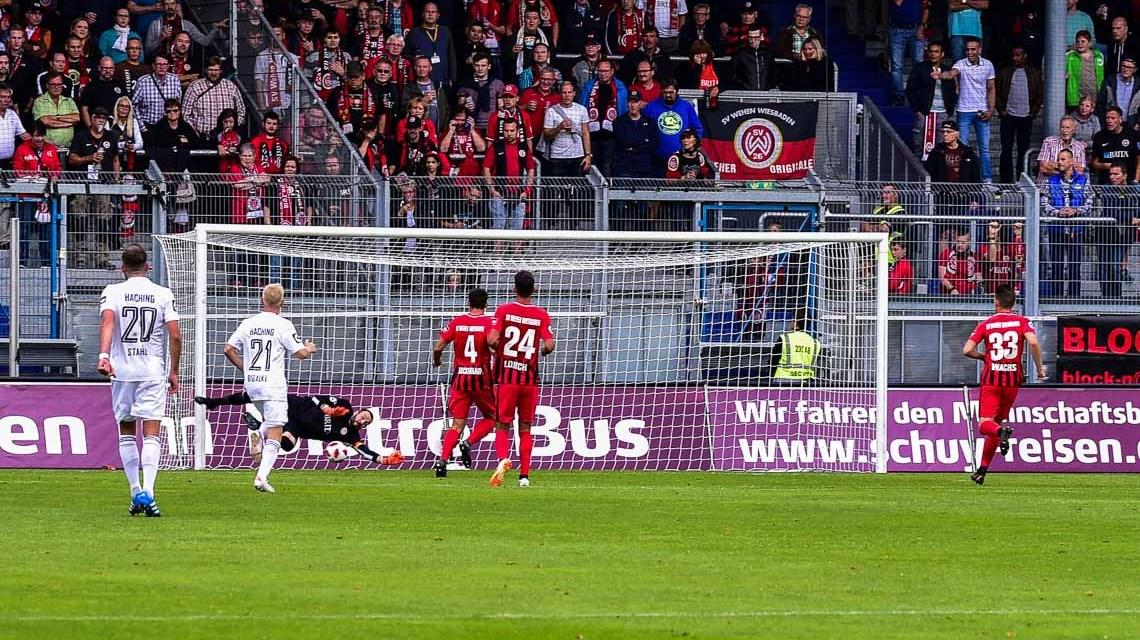 3. Liga | Saison 2018.2019 | 5. Spieltag | SV Wehen Wiesbaden - SpVgg Unterhaching | 1:2 @2018 Volker Watschounek