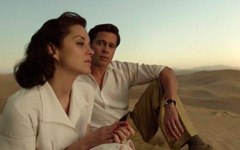 """Marion Cotillard, Brad Pitt und die Sonne von Casablanca sind in dem romantischen Thriller """"Allied"""" alle auf dem Höhepunkt ihrer Strahlkraft. ©2018 Paramount Pictures"""