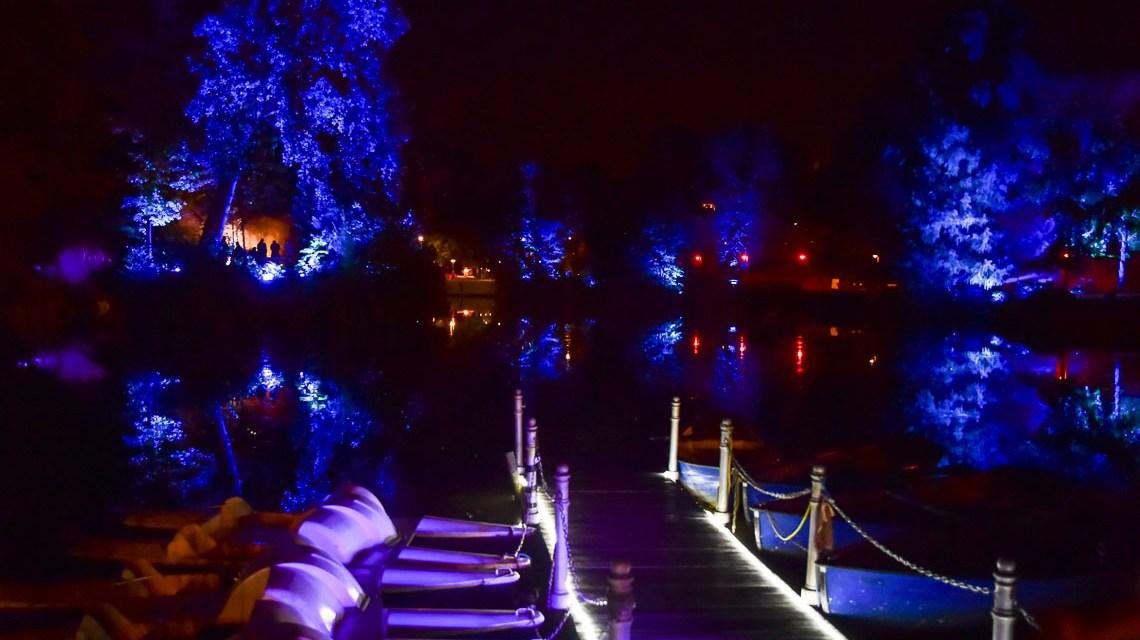 Lichtspiele im Kurpark Wiesbaden