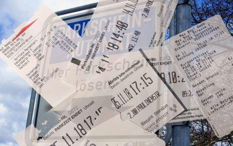 Parkgebühren: Die Stunde 2,oo Euro, schon bald kostet die Stunde 2,50, wie im Parkhaus eben. ©2018 Volker Watschounek