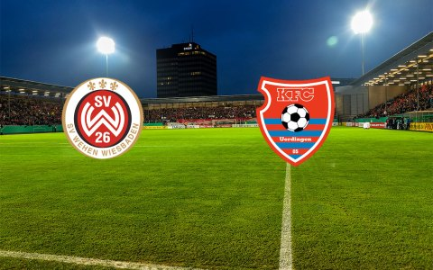 Spitzenspiel der 3. Liga, der Tabellendritte, gegen den Tabellensiebten. ©2018 Wiesbaden lebt!