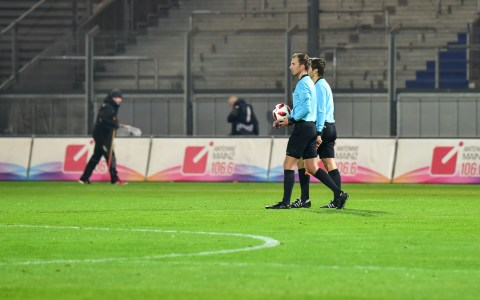 3. Liga   19. Spieltag   SV Wehen Wiesbaden - KFC Uerdingen   0:2 ©2018 Volker Watschounek