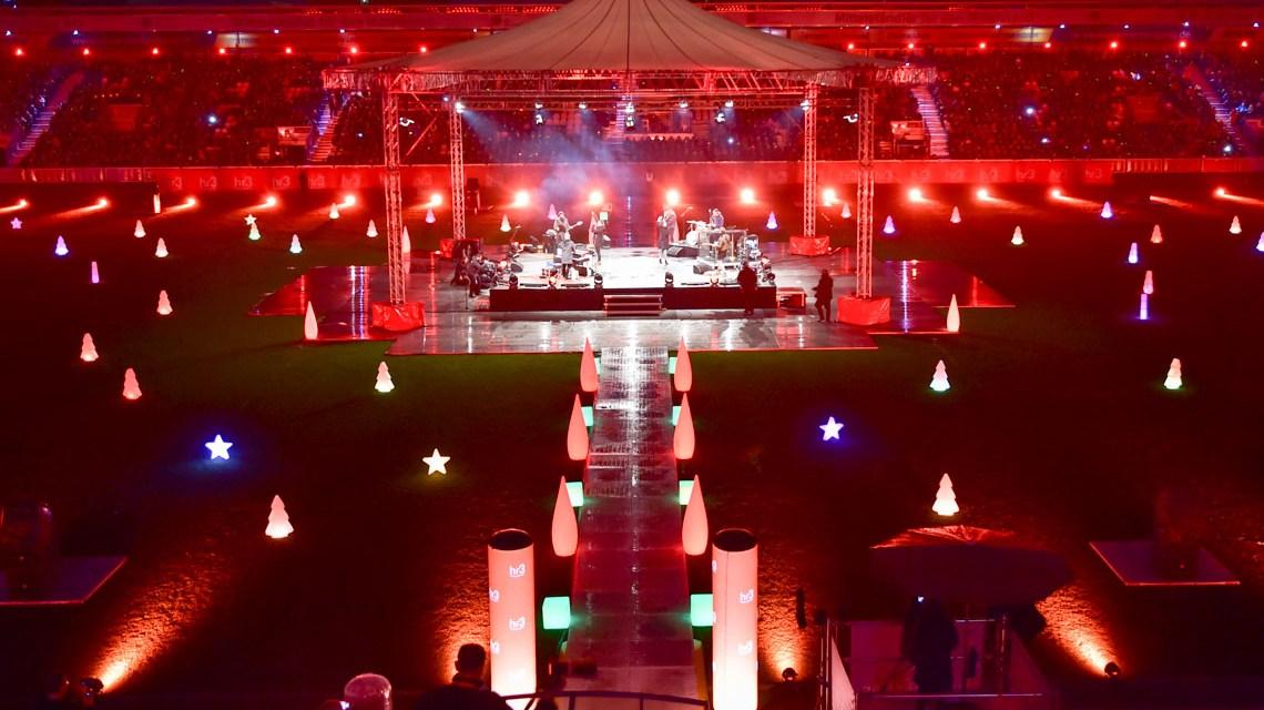 Weihnachtssingen in der Brita Arena