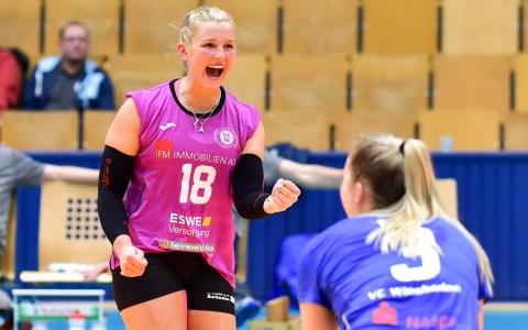 Volleyball Bundesliga Damen | 2018.2019 | 12. Spieltag |VC Olympic Berlin - VC Wiesbaden | 0:3 - Lisa Stock