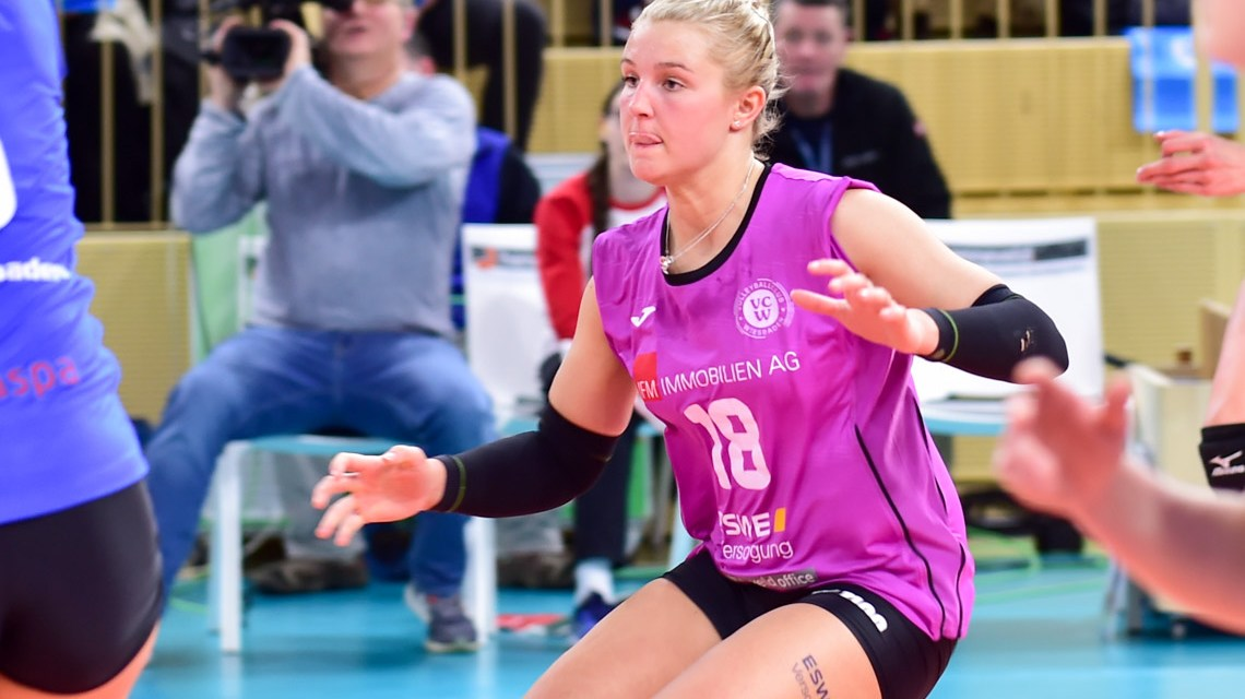 1. Volleyball Bundesliga Frauen   2018/2019   10. Spieltag   VC Wiesbaden – SSC Palmberg Schwerin   0:3