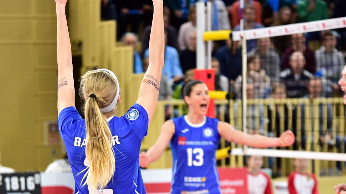Volleyball: Wiesbaden besiegt Straubing mit 3:0