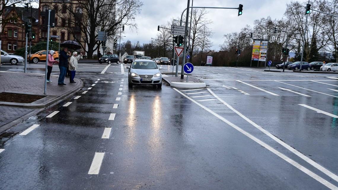 Verkehrsfreigabe der Kasteler Straße