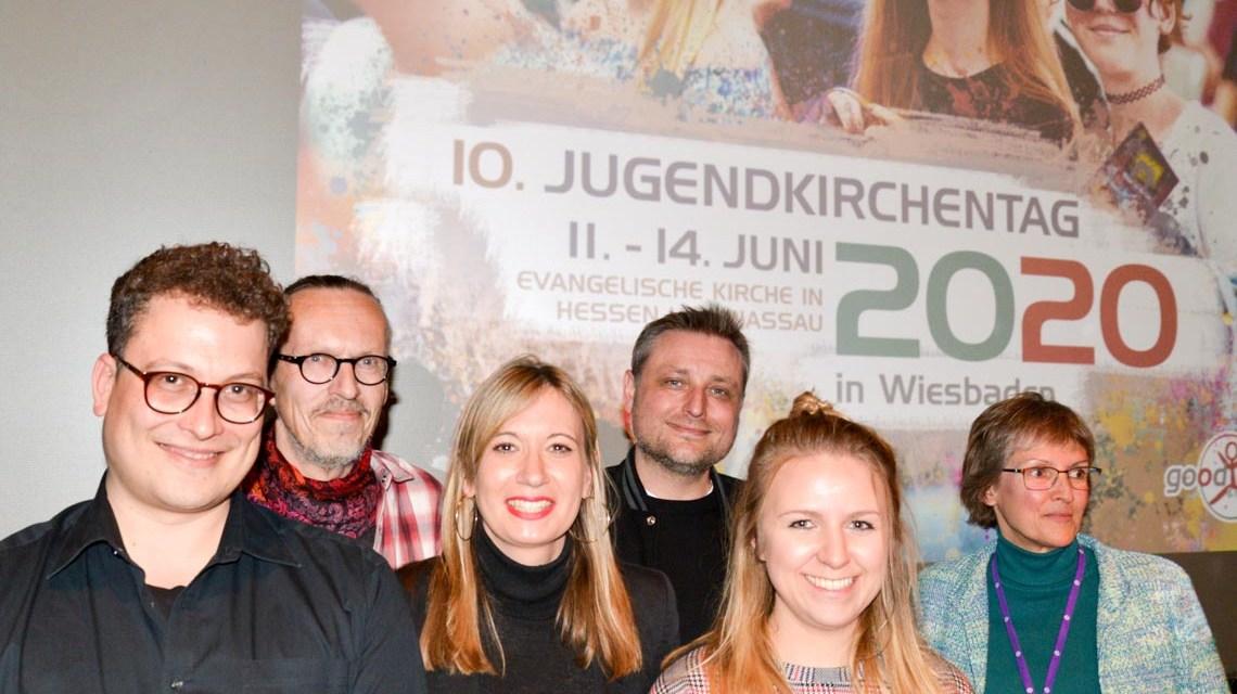 Team des 10. Jugendkirchentags in Wiesbaden. ©2019 Jugendkirchentag