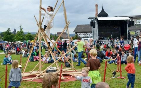 Folklore Festival, ein Festival der Kulturen am Schlachthof in Wiesbaden. ©2014 Volker Watschounek
