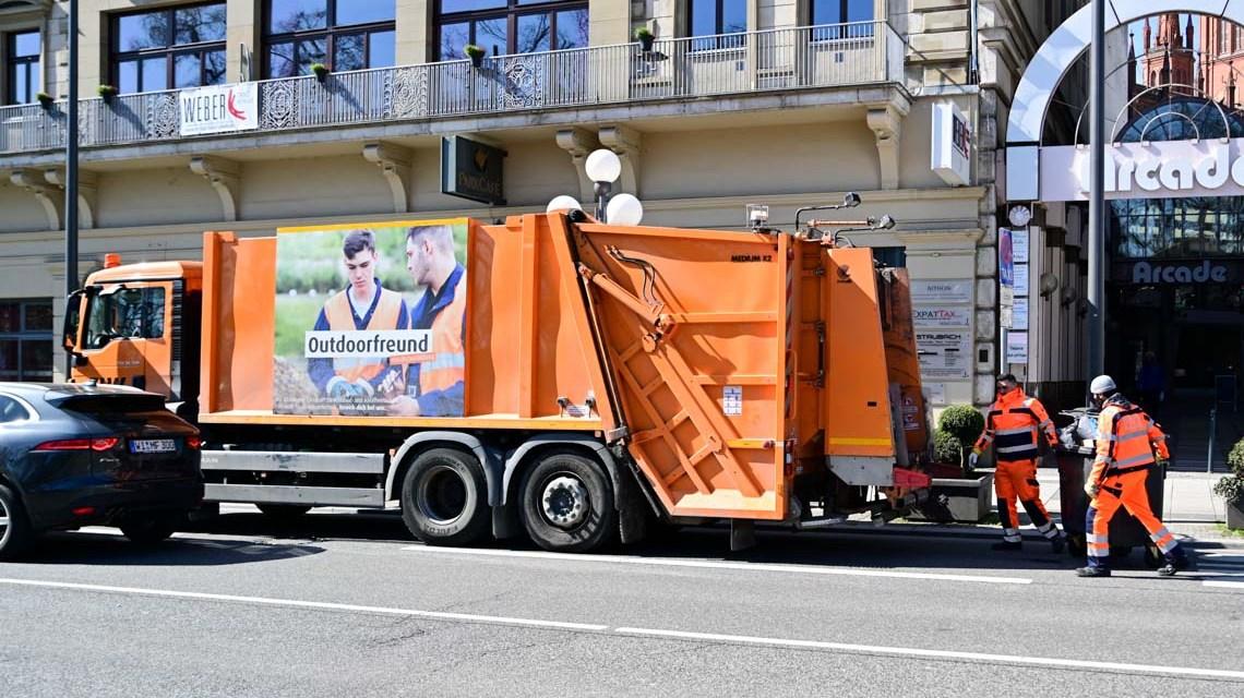 Müllentsorgung der ELW