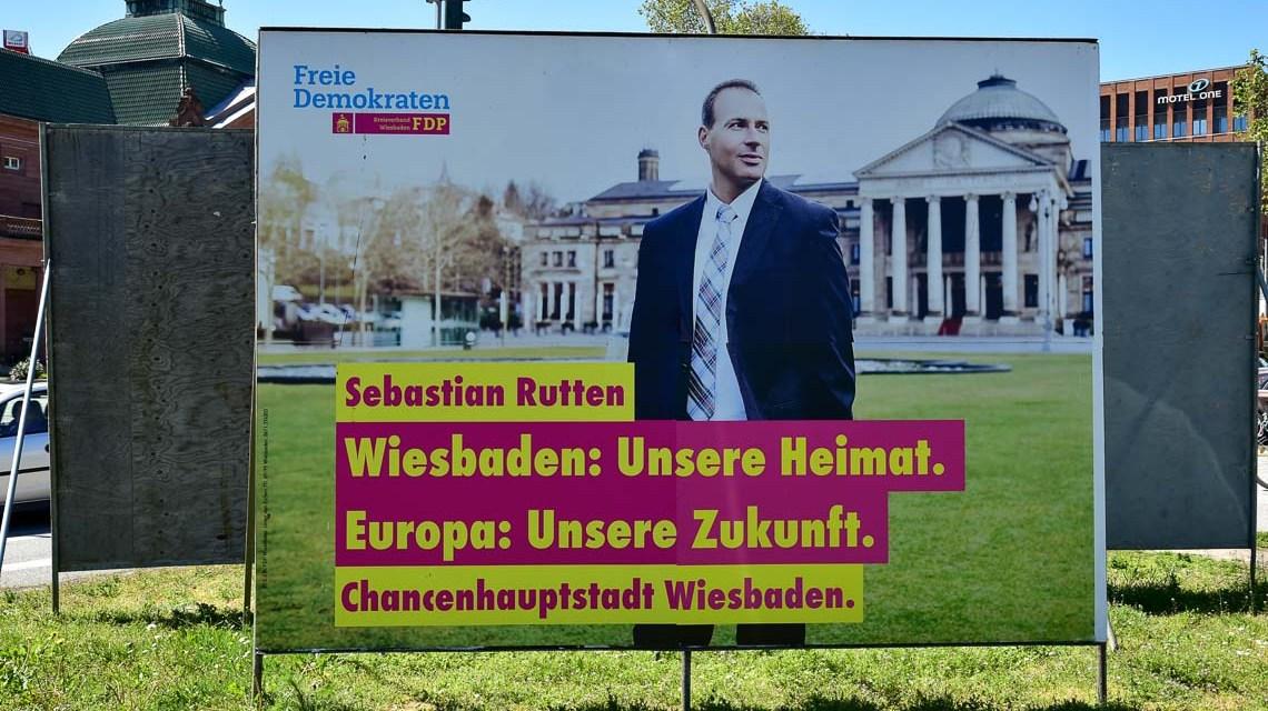 Wahlplakat Sebastian Rutten ©2019 Volker Watschounek