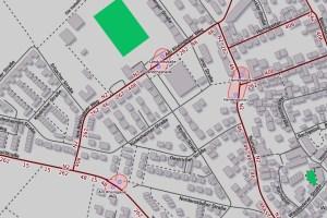 """Linie 46 von der Haltestelle """"Am Rheingauer Weg"""" ©2019 Openstreetmap"""