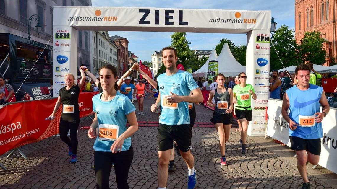 Gregor Buchholz gewinnt den 2. Midsummer Run