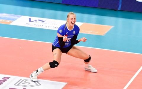 Selma Hetmann, VC Wiesbaden - Dresdener SC | 1. Volleyball Bundesliga | 2018 / 2019 | 3:0