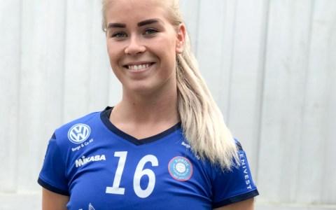 Renate Bjerland wechselt zum VC Wiesbaden. ©2019 Anita Bjerland