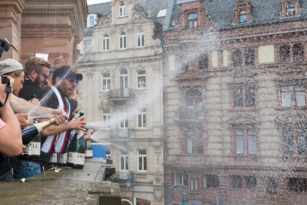 SVWW beim Rathausempfang.