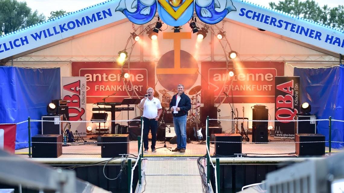Das Schiersteiner Hafenfest ist eröffnet