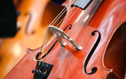 Matinée, Loge Plato, Matin Ein Cello steht im Raum. Schon bald steht es beim Kammerkonzert der MWA auf der Bühne. ©2019 WMK