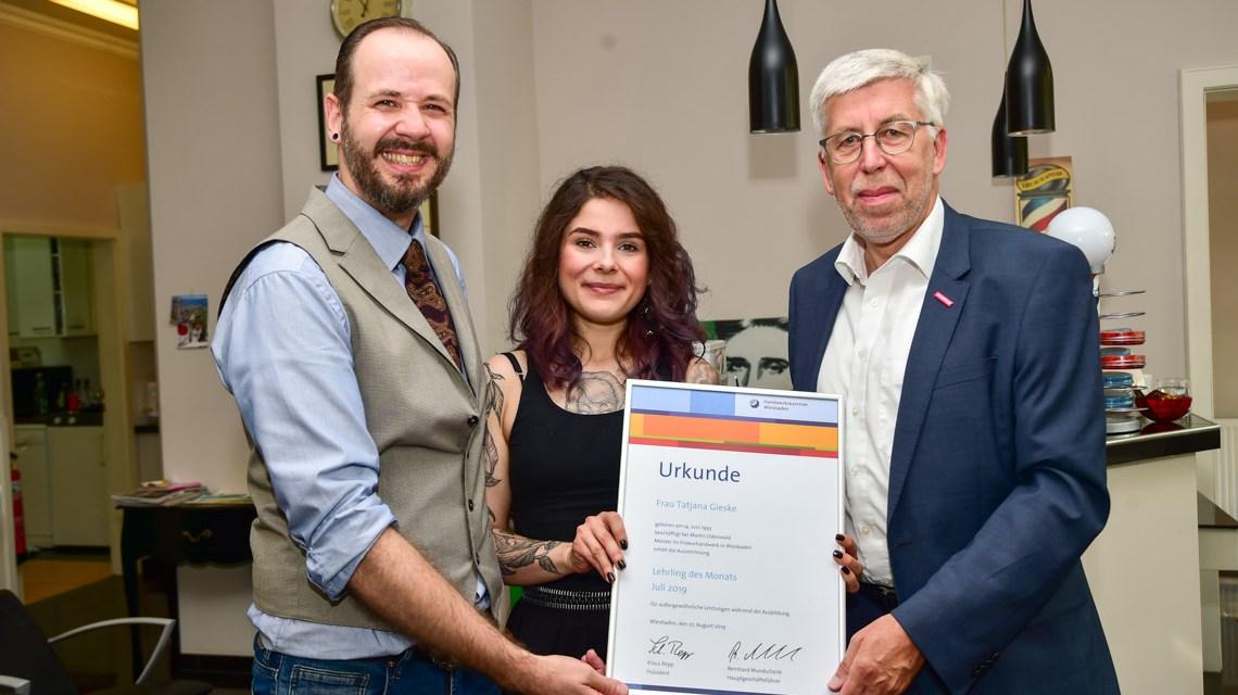 Tatjana Gieske ist Lehrling des Monats