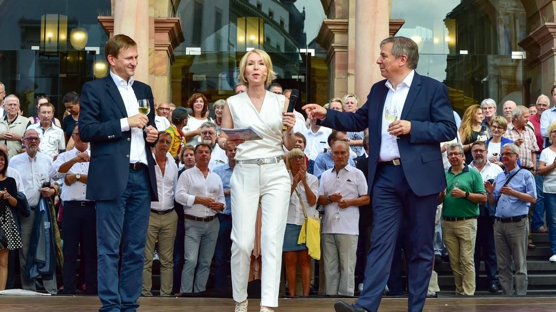 Die 44. Rheingauer Weinwoche ist eröffnet