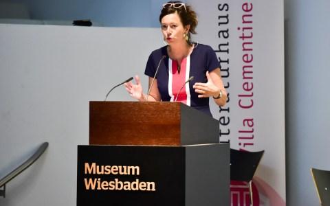 Eva Menasse, Literaturtage Wiesbaden