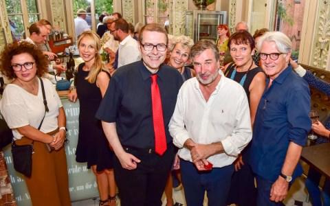 Eröffnung des neuen Literaturhaus-Café von und mit Holger Schwedler
