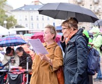 Wiesbaden singt: Axel Imholz, Christoph Nielbock, Hanna Schefczyk, Leo Heidingsfelder Foto: Volker Watschounek