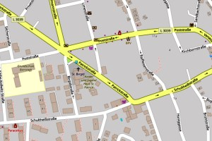 Patrickstraße ©2019 Openstreetmap
