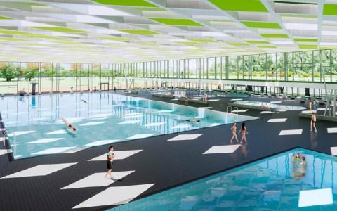 Sportpark Rheinhöhe, Entwürfe und Pläne