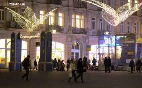 Sternschnuppenmarkt in Wiesbaden