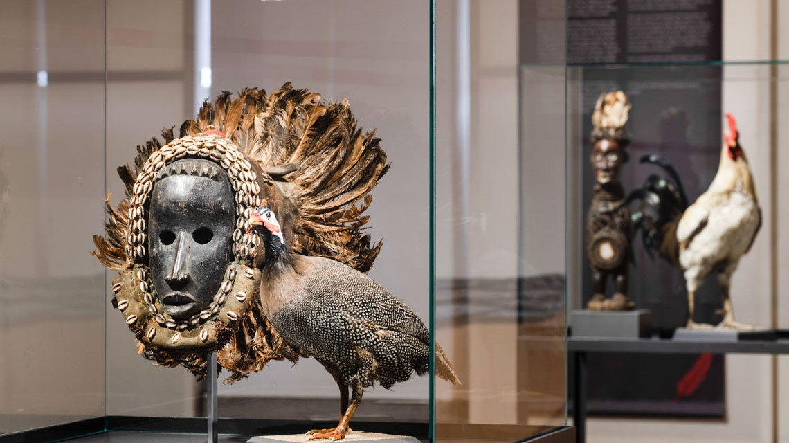Blick in die Ausstellung © Museum Wiesbaden, Foto: Bernd Fickert
