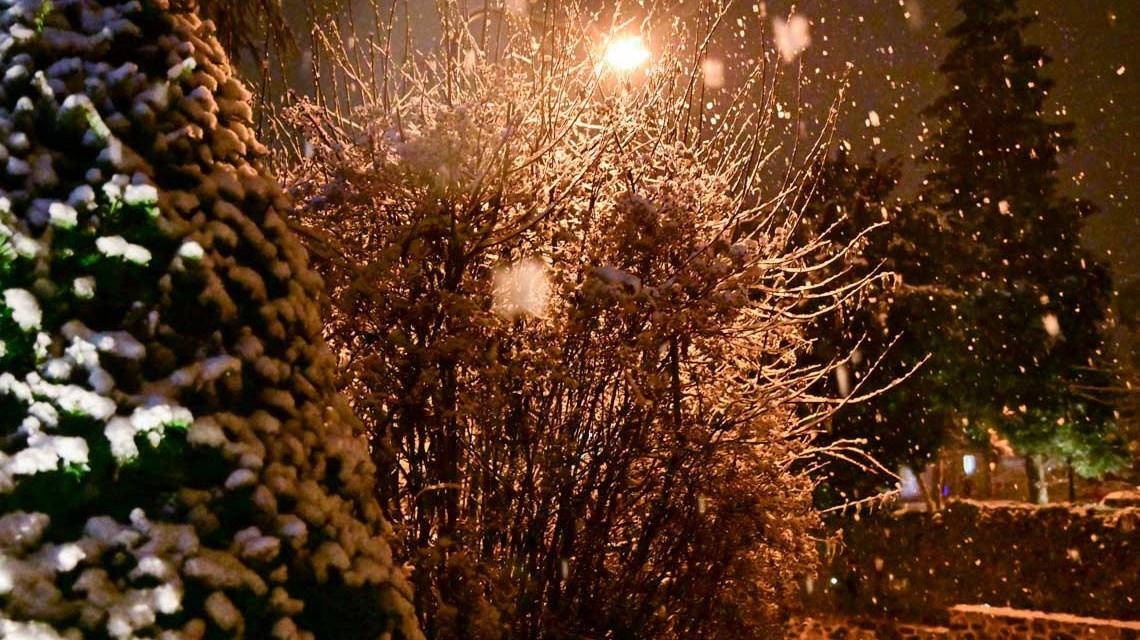 Wintereinbruch 2019 in Wiesbaden