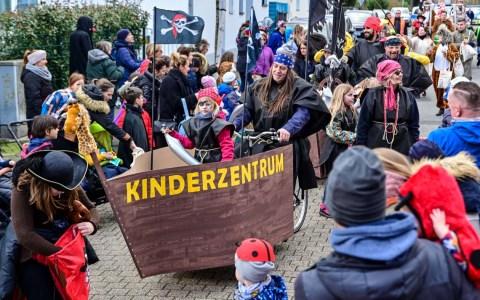 Gibber Kinderfaschinag in Wiesbaden ©2020 Volker Watschounek
