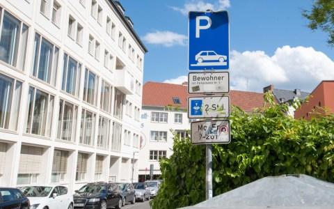 Anwohnerparken, ein Stück Parkraummanagement
