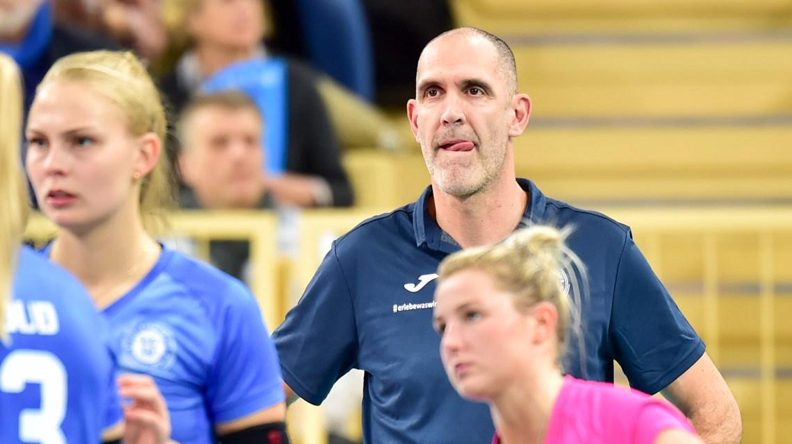 1. Volleyball Bundesliga | 2019.2020 | 7. Spieltag | VC Wiesbaden – Schwarz-Weiß Erfurt |3:2 nach Tiebreak