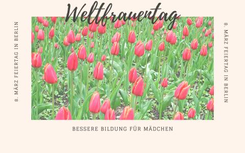 Weltfrauentag in Wiesbaden