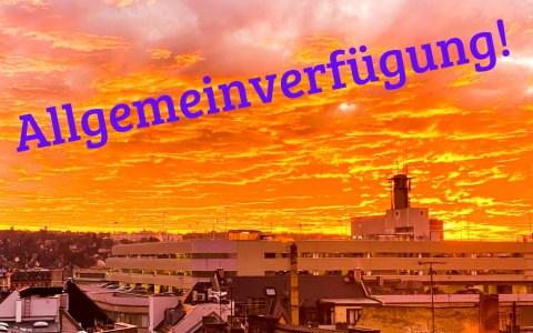 Wiesbaden erlässt Allgemeinverfügung
