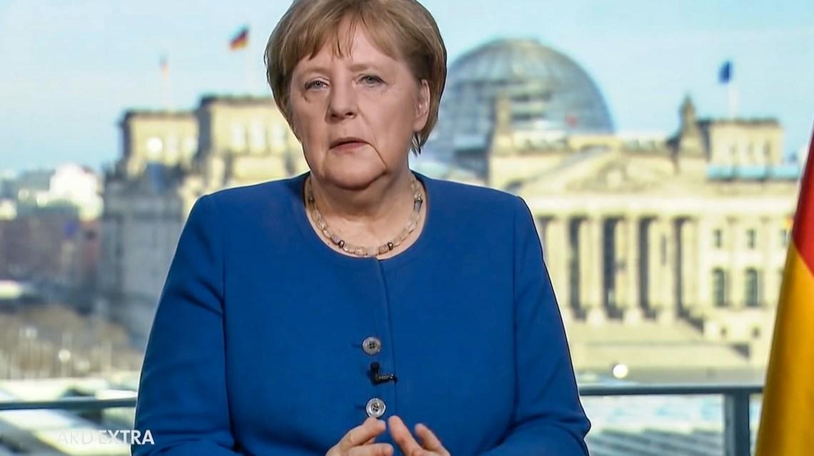 Angela Merkel Ansprache