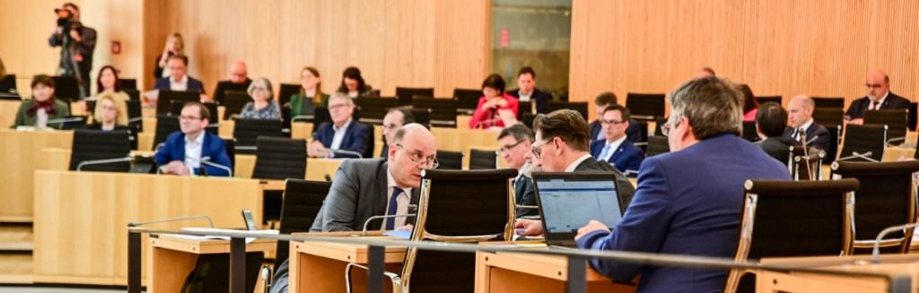 Regierumngserklärung von Ministerpräsident Volker Bouffier