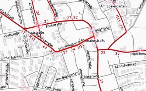 Schultheißstraße in Bierstadt