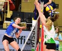 VC Wiesbaden - USC Münster, 1-3