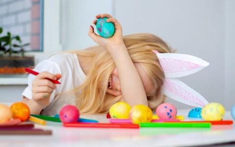 Montagsmaler an Ostern ©2020 djd / Kinder Getty