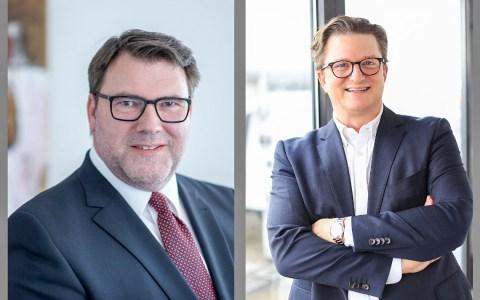 Ralf Jäger und Thorsten Anstädt