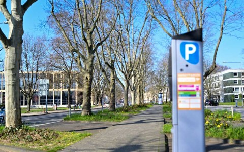 Parken in der Friedrich-Ebert-Allee