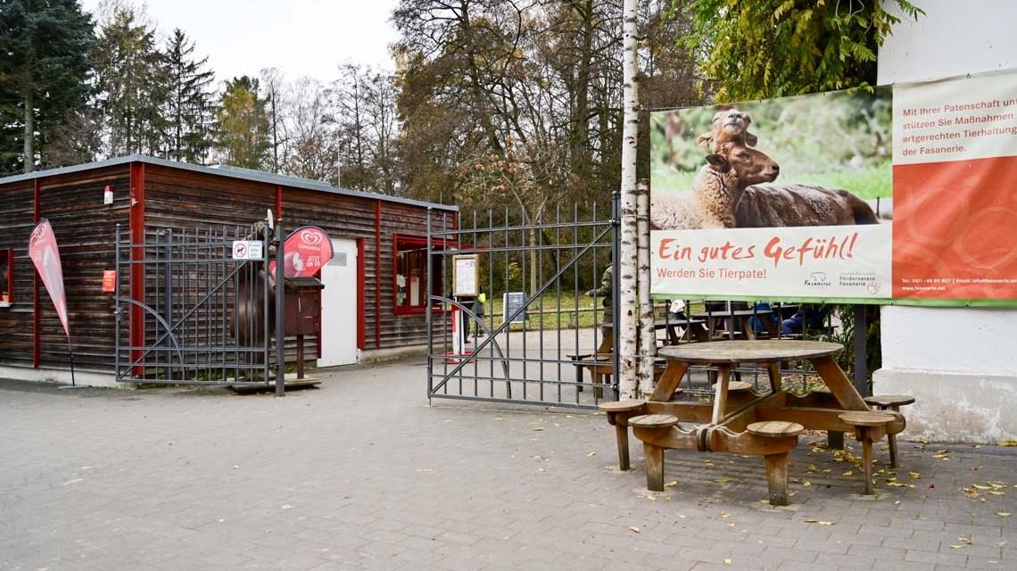 Fantastische Helden im Tierpark Fasanerie