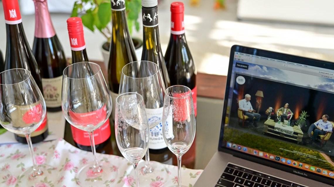 Weinprobe online, Weintalk