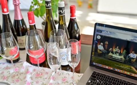 Weinprobe onliine